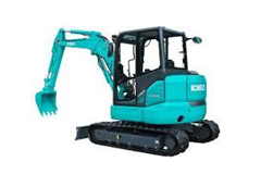 Mini Excavators 1.8 - 5.0 Ton